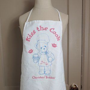Vintage Kiss the Cook Apron by Cherished Teddies